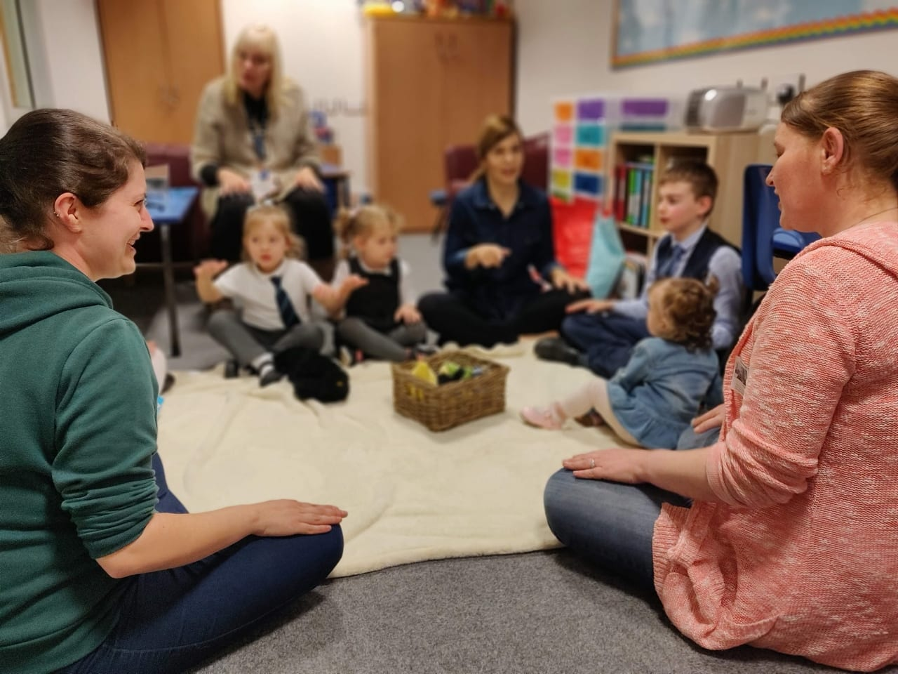 Free toddler group at the academy every Friday afternoon