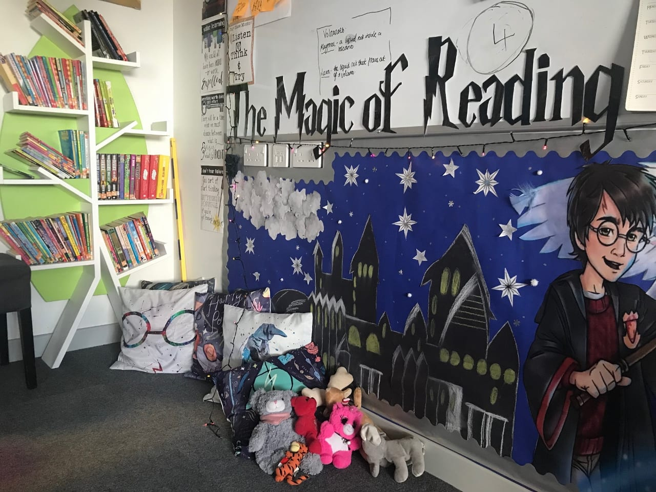 Developing a love of reading for pleasure