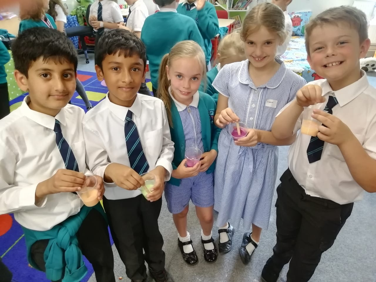 Science is sublime for year 4 pupils!