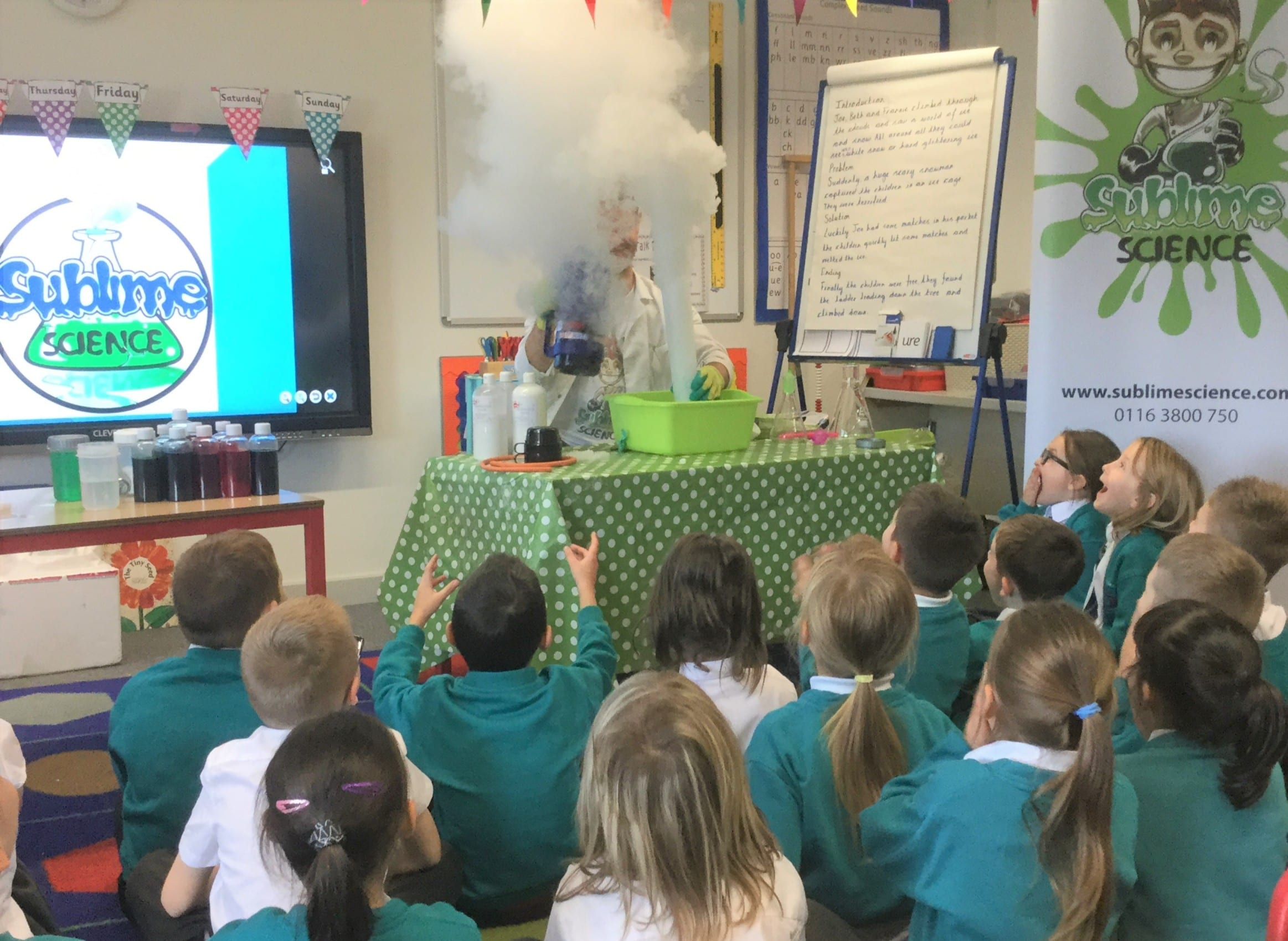Sublime Science treat for year 2 pupils