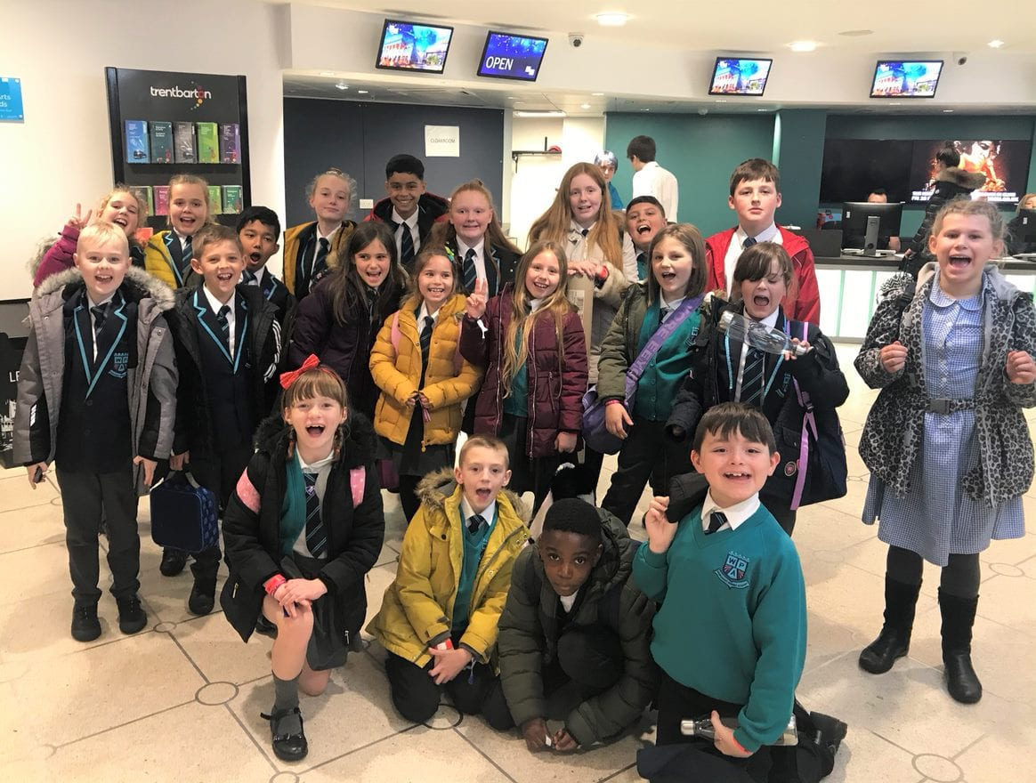 Pupils attend inaugural WE Day Nottingham