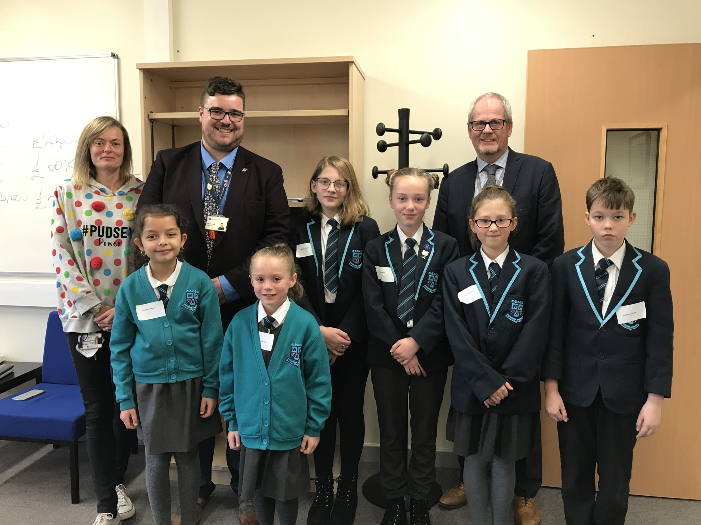 Wainwright pupils visit Diverse Academies Trust