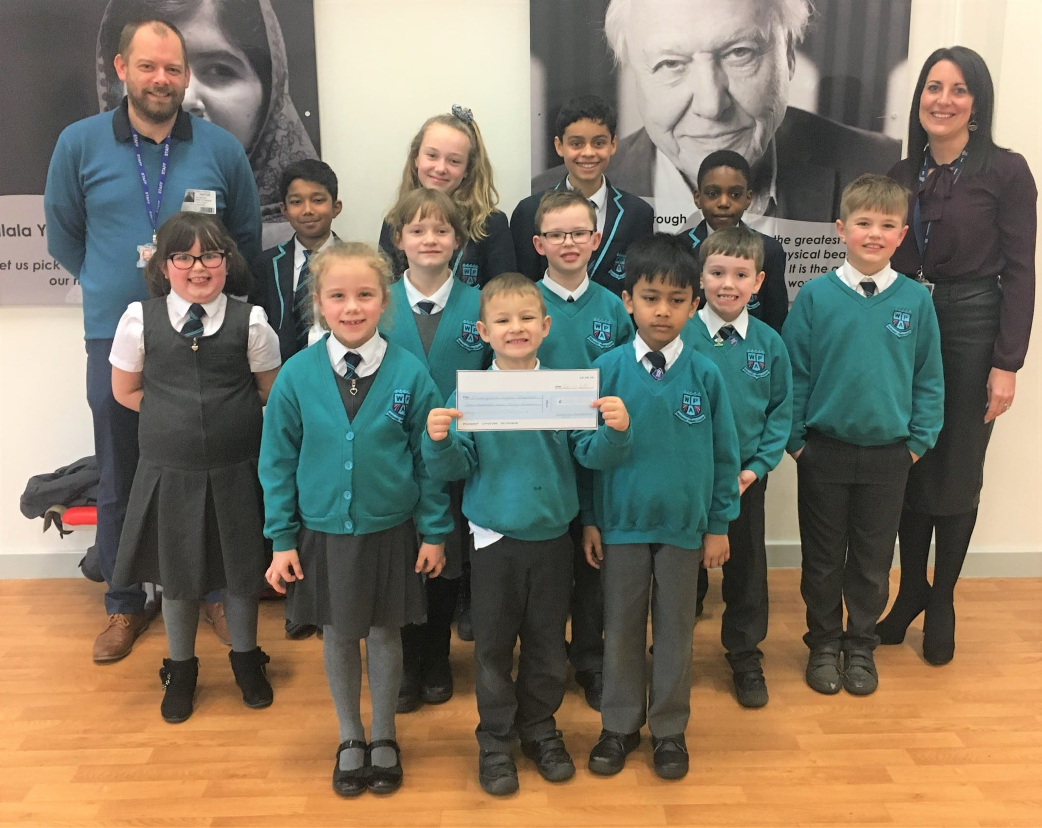Pupil leadership team support local homeless charity